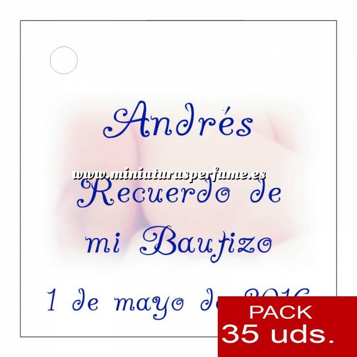 Imagen Etiquetas personalizadas Etiqueta Modelo A25 (Paquete de 35 etiquetas 4x4)