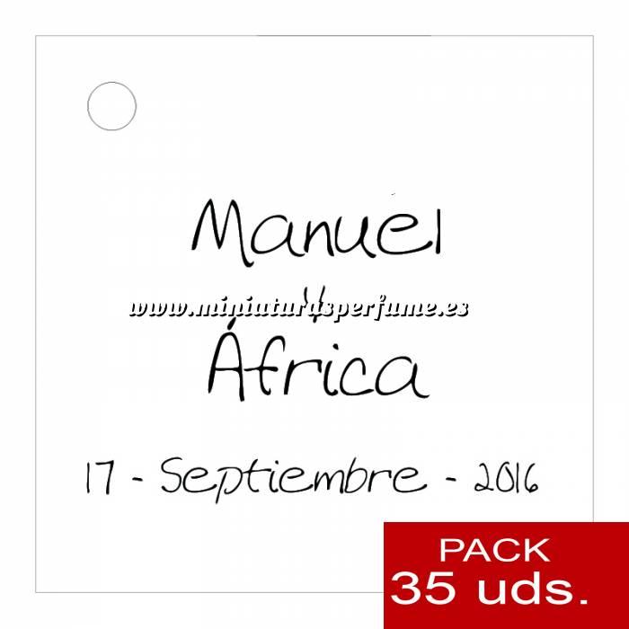 Imagen Etiquetas personalizadas Etiqueta Modelo B04 (Paquete de 35 etiquetas 4x4)