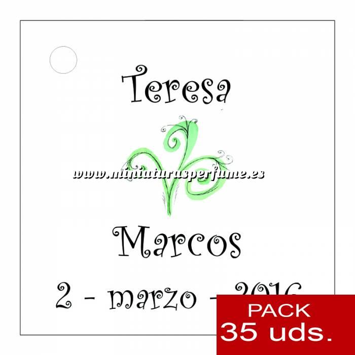 Imagen Etiquetas personalizadas Etiqueta Modelo E07 (Paquete de 35 etiquetas 4x4)