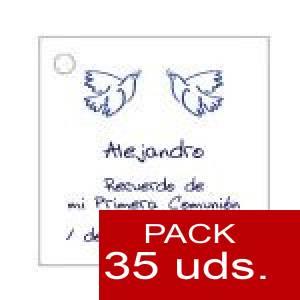 Imagen Etiquetas personalizadas Etiqueta Modelo A21 (Paquete de 35 etiquetas 4x4)
