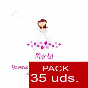 Etiquetas personalizadas - Etiqueta Modelo A22 (Paquete de 35 etiquetas 4x4)