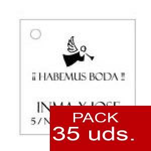 Imagen Etiquetas personalizadas Etiqueta Modelo B01 (Paquete de 35 etiquetas 4x4)