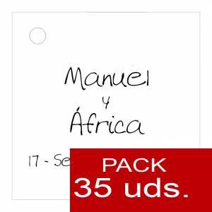 Etiquetas personalizadas - Etiqueta Modelo B04 (Paquete de 35 etiquetas 4x4)