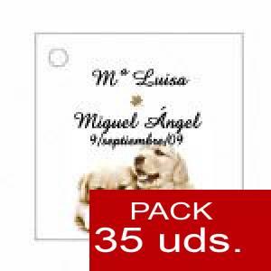 Imagen Etiquetas personalizadas Etiqueta Modelo B16 (Paquete de 35 etiquetas 4x4)