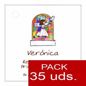 Etiquetas personalizadas - Etiqueta Modelo B21 (Paquete de 35 etiquetas 4x4)
