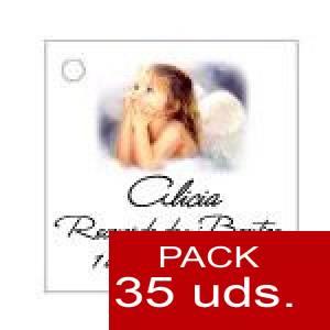 Imagen Etiquetas personalizadas Etiqueta Modelo B27 (Paquete de 35 etiquetas 4x4)