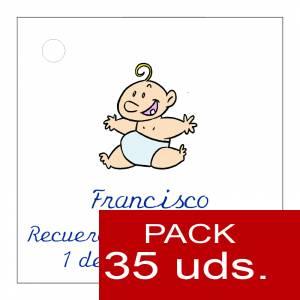 Etiquetas personalizadas - Etiqueta Modelo C21 (Paquete de 35 etiquetas 4x4)