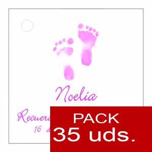 Etiquetas personalizadas - Etiqueta Modelo C24 (Paquete de 35 etiquetas 4x4)