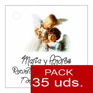 Etiquetas personalizadas - Etiqueta Modelo C27 (Paquete de 35 etiquetas 4x4)