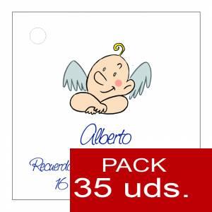 Etiquetas personalizadas - Etiqueta Modelo D20 (Paquete de 35 etiquetas 4x4)