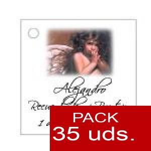 Imagen Etiquetas personalizadas Etiqueta Modelo D25 (Paquete de 35 etiquetas 4x4)