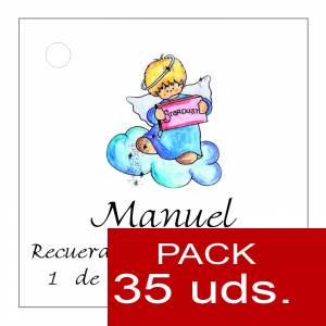 Etiquetas personalizadas - Etiqueta Modelo D28 (Paquete de 35 etiquetas 4x4)
