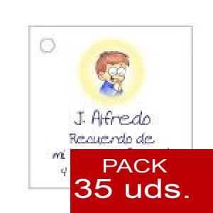Imagen Etiquetas personalizadas Etiqueta Modelo E18 (Paquete de 35 etiquetas 4x4)