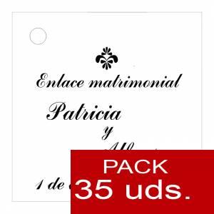 Etiquetas personalizadas - Etiqueta Modelo F03 (Paquete de 35 etiquetas 4x4)