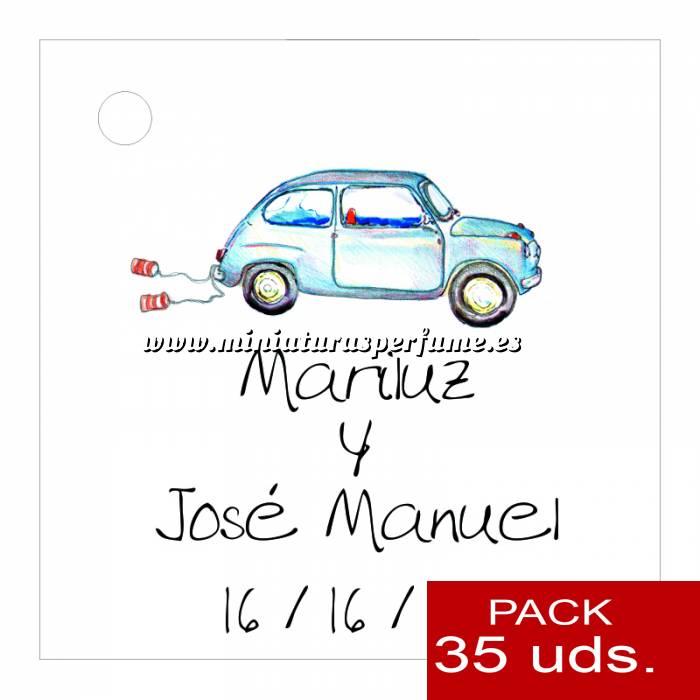 Imagen Etiquetas impresas Etiqueta Modelo A07 (Paquete de 35 etiquetas 4x4)