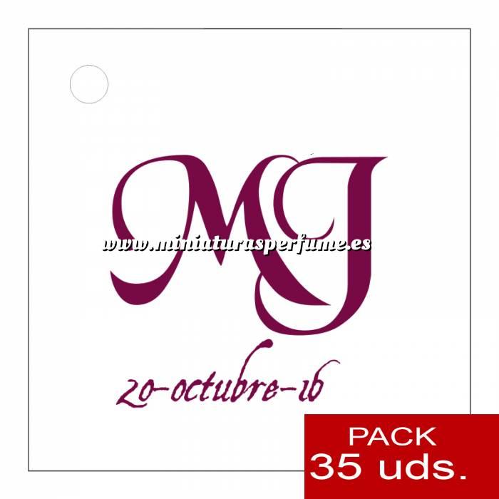 Imagen Etiquetas impresas Etiqueta Modelo E10 (Paquete de 35 etiquetas 4x4)