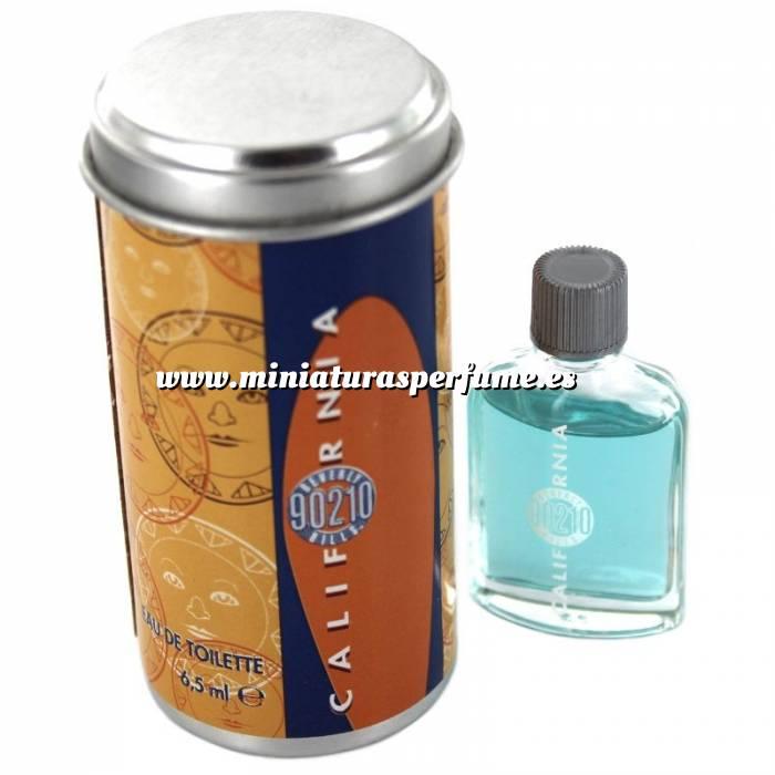Imagen -Mini Perfumes Hombre California Eau de Toilette by 90210 Beverly Hills 6.5ml. (Latita redonda) (Últimas Unidades)