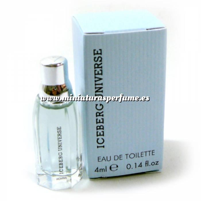 Imagen -Mini Perfumes Mujer Iceberg Universe Eau de Toilette for Man 4ml. (Ideal Coleccionistas) (Últimas Unidades)