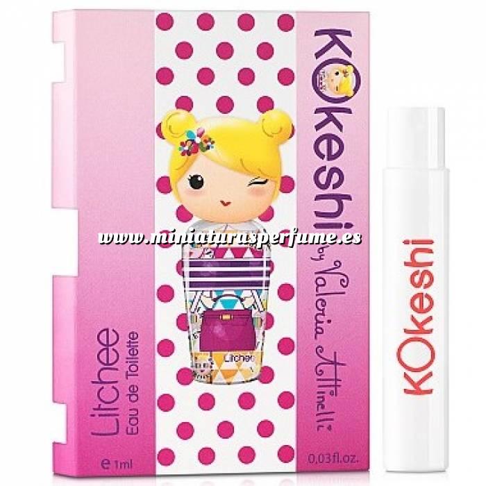 Imagen -Mini Perfumes Mujer Kokeshi LITCHEE EDT by Valeria Attinelli 1,2ml. (Últimas Unidades)