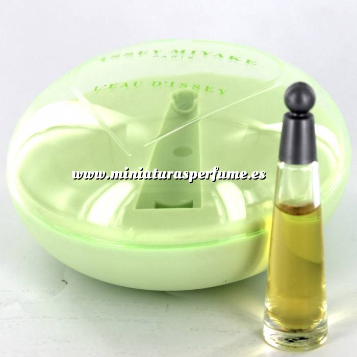 Imagen -Mini Perfumes Mujer L eau d Issey by Issey Miyake 3ml MUJER. (EDICIÓN ESPECIAL - caja redonda) (Últimas Unidades)