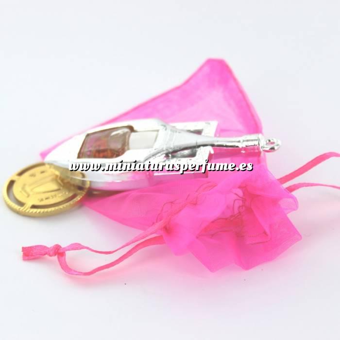 Imagen -Mini Perfumes Mujer Lif Parfum 80 Eau de Parfum (preparado en bolsa de organza) más Llavero (Últimas Unidades)