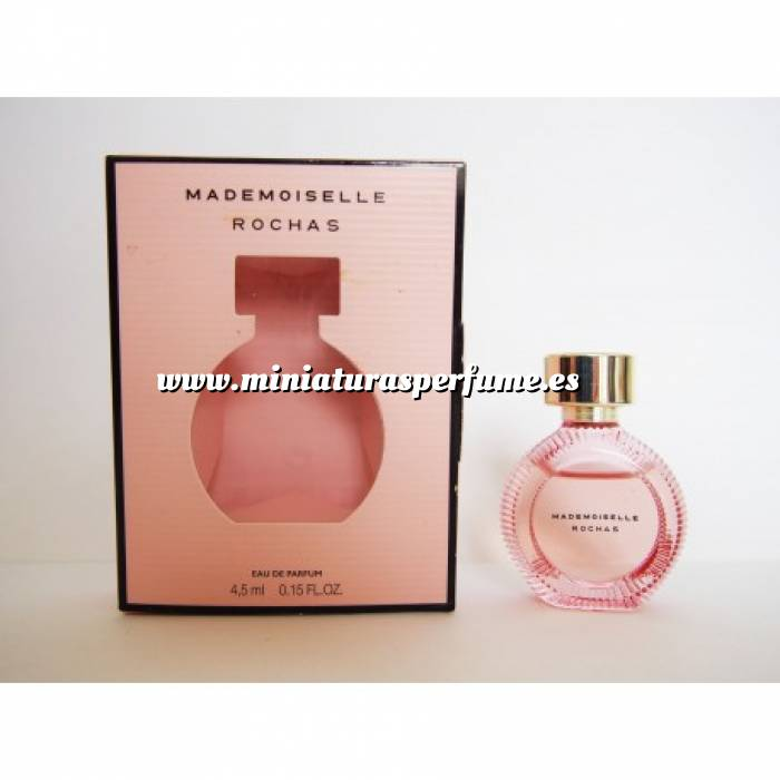 Imagen -Mini Perfumes Mujer Mademoiselle Rochas Eau de parfum 4.5ml (Últimas Unidades)