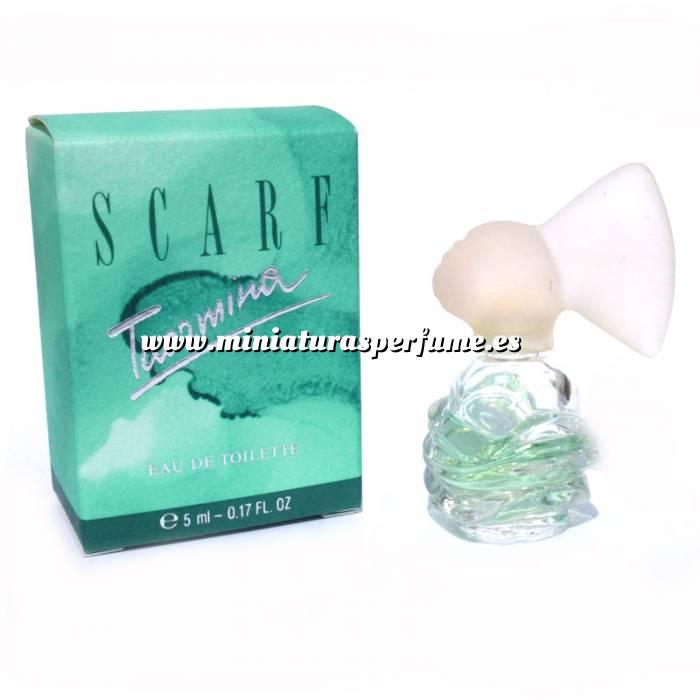 Imagen -Mini Perfumes Mujer Scarf Taormina Eau de Toillette by Marbert 5ml. (TURQUESA) (Últimas Unidades)