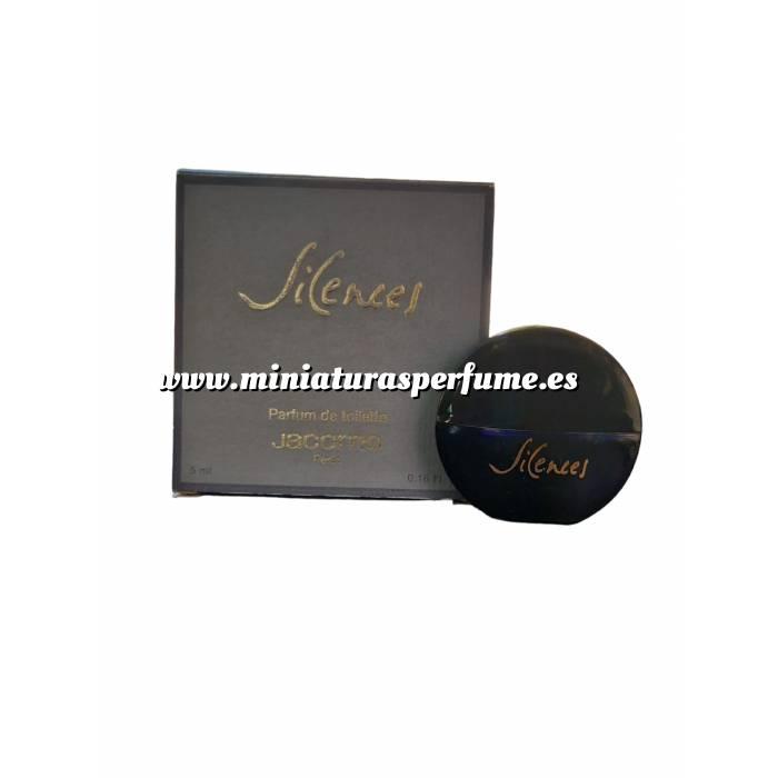 Imagen -Mini Perfumes Mujer Silences Parfum de Toilette by Jacomo 5ml. (Ideal Coleccionistas) (Últimas Unidades)