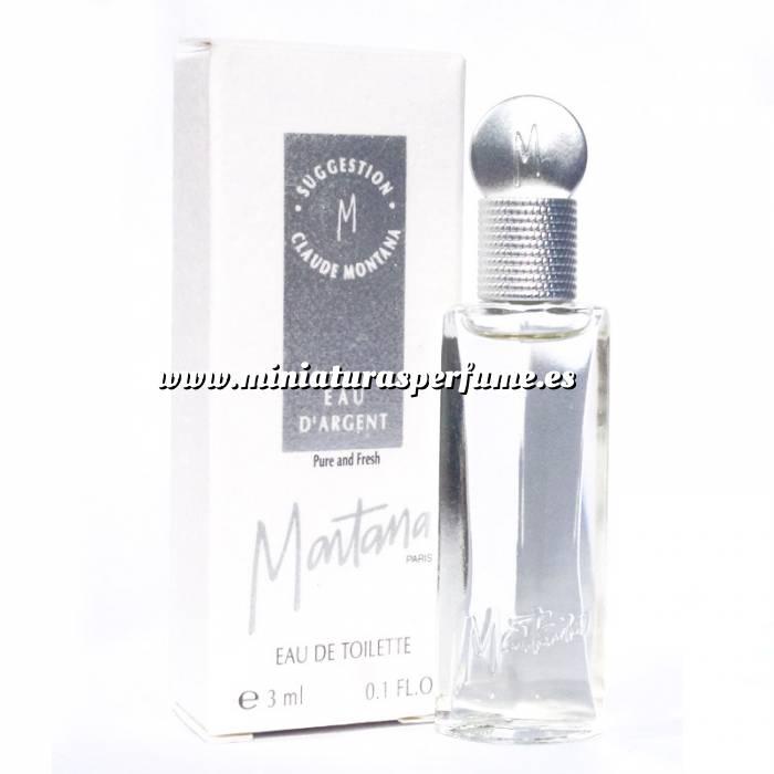 Imagen -Mini Perfumes Mujer Suggestion Eau d´Argent de Toilette by Claude Montana 3ml. (Últimas Unidades)