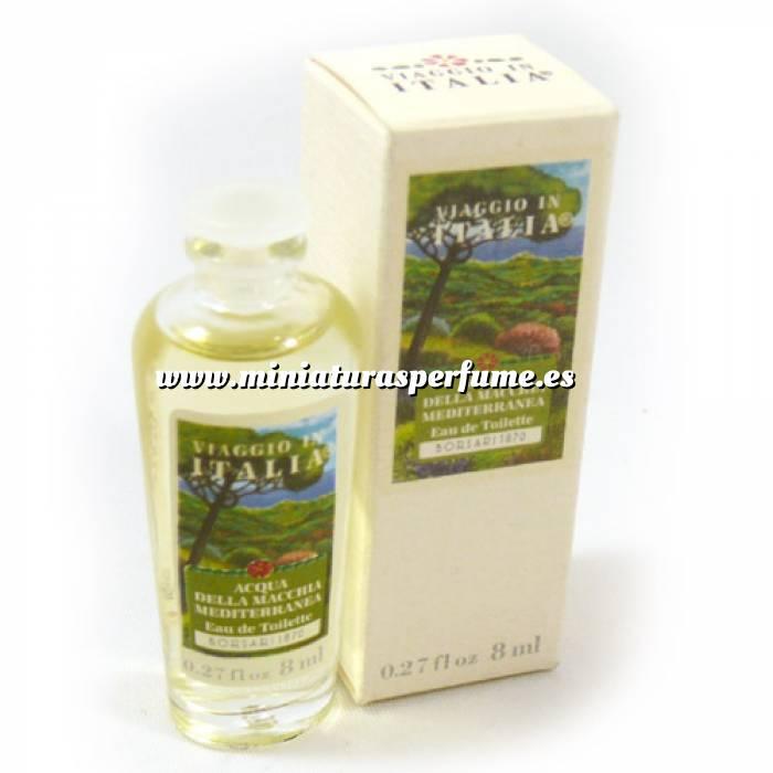Imagen -Mini Perfumes Mujer Viaggio in Italia Acqua della Macchia Mediterranea 8ml.(Ideal Coleccionistas) (Últimas Unidades)