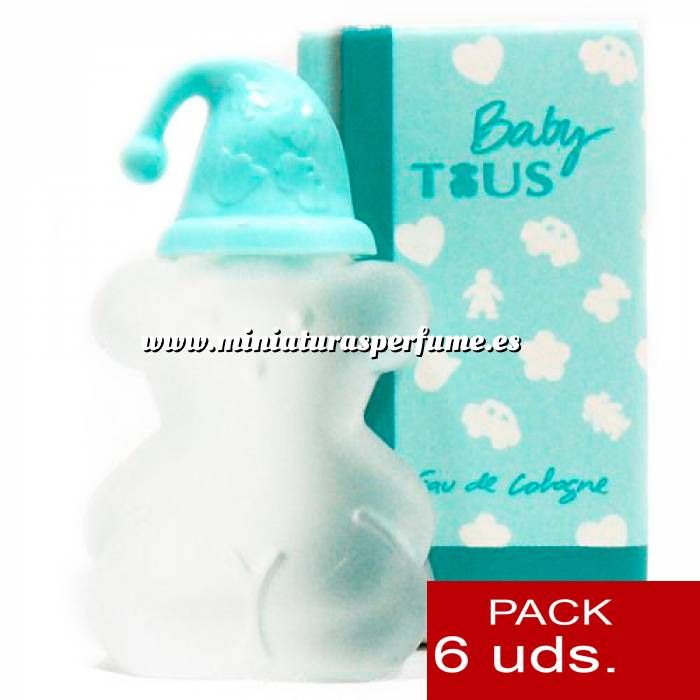 Imagen .PACKS PARA BODAS Tous Baby 4.5 ml by Tous PACK 6 UNIDADES