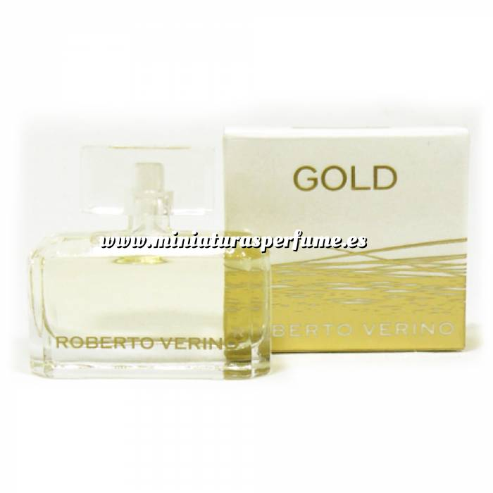 mini_perfume: Gold 4 ml de Roberto Verino