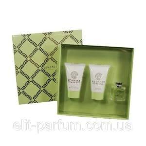 EDICIONES ESPECIALES - Versace versense Perfume Set  - Perfume 5m + Body 25ml + Gel 25ml. (EDICIÓN ESPECIAL - Estuche Verde (Últimas Unidades)
