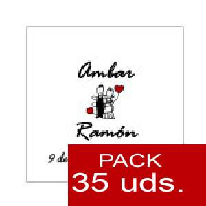 Etiquetas - Etiqueta 4 x 4 cm (Paquete 35 unidades)