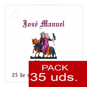 Etiquetas impresas - Etiqueta Modelo A11 (Paquete de 35 etiquetas 4x4)