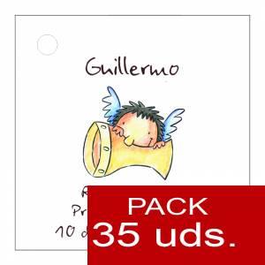 Etiquetas impresas - Etiqueta Modelo A17 (Paquete de 35 etiquetas 4x4)