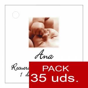 Etiquetas impresas - Etiqueta Modelo A26 (Paquete de 35 etiquetas 4x4)