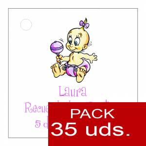 Etiquetas impresas - Etiqueta Modelo A28 (Paquete de 35 etiquetas 4x4)