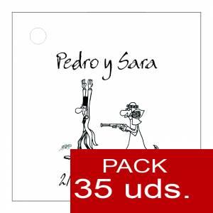 Etiquetas impresas - Etiqueta Modelo B14 (Paquete de 35 etiquetas 4x4)