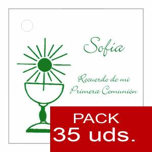Etiquetas impresas - Etiqueta Modelo B20 (Paquete de 35 etiquetas 4x4)