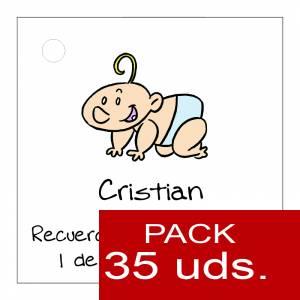 Etiquetas impresas - Etiqueta Modelo B23 (Paquete de 35 etiquetas 4x4)