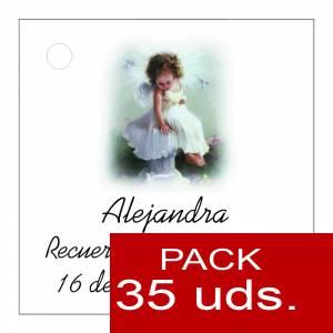 Etiquetas impresas - Etiqueta Modelo B28 (Paquete de 35 etiquetas 4x4)