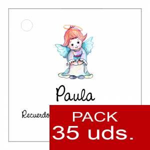 Etiquetas impresas - Etiqueta Modelo C06 (Paquete de 35 etiquetas 4x4)