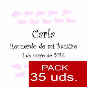 Etiquetas impresas - Etiqueta Modelo D22 (Paquete de 35 etiquetas 4x4)