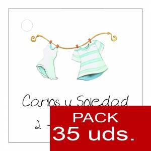Etiquetas impresas - Etiqueta Modelo E06 (Paquete de 35 etiquetas 4x4)