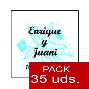 Imagen Etiquetas impresas Etiqueta Modelo E12 (Paquete de 35 etiquetas 4x4)