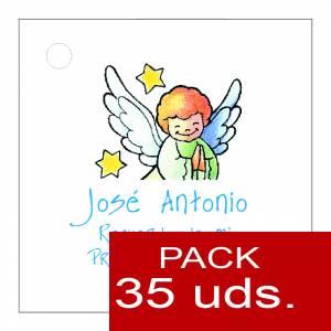 Etiquetas impresas - Etiqueta Modelo E15 (Paquete de 35 etiquetas 4x4)