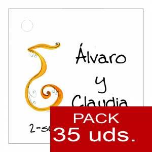 Etiquetas impresas - Etiqueta Modelo F05 (Paquete de 35 etiquetas 4x4)
