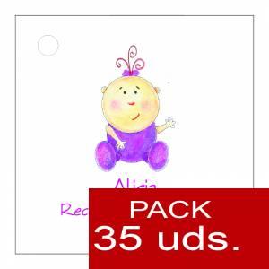 Etiquetas impresas - Etiqueta Modelo F15 (Paquete de 35 etiquetas 4x4)