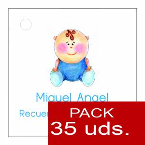Etiquetas impresas - Etiqueta Modelo F16 (Paquete de 35 etiquetas 4x4)